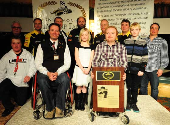 Blair Morgan Race Team at the SHOF Induction