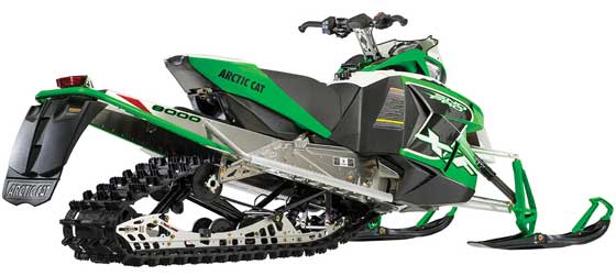 2014 Arctic Cat XF 8000 with 137-in. track & SLIDE-ACTION