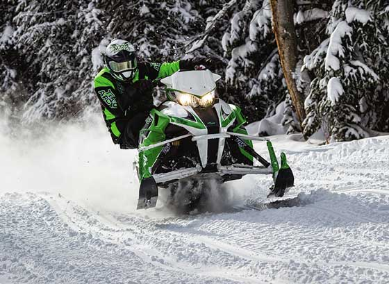 2014 Arctic Cat Demo Tour ride