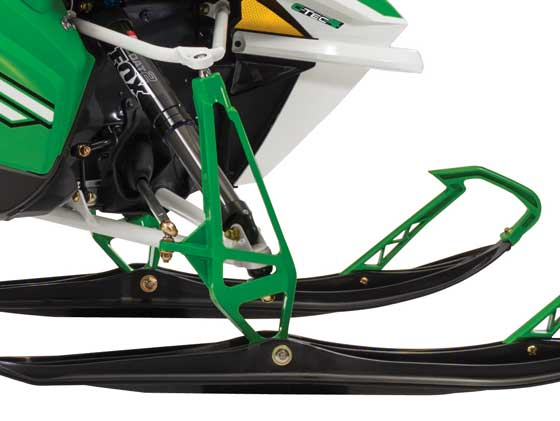 New 2014 Arctic Cat spindle that's 1-lb. lighter