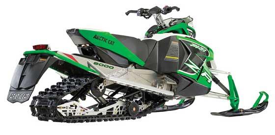 2014 Arctic Cat ZR 8000 snowmobile