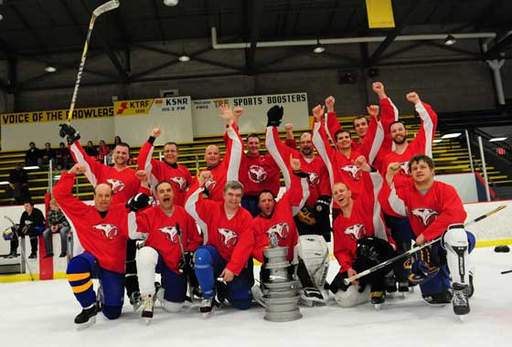 Arctic Cat ATV Hockey Team takes the Cup