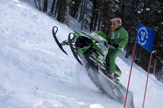Kyle Tapio and Arctic Cat are King of Kings at 2013 Jackson Hole