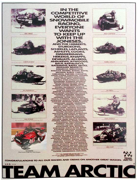 1994 Team Arctic Race Poster by ArcticInsider