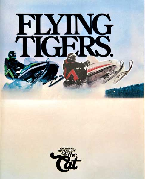 One version of the Flying Tiger(s) ad from ArcticInsider.com