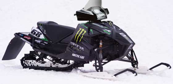 The Hibbert Phazer-Like Replica sled by ArcticInsider.com