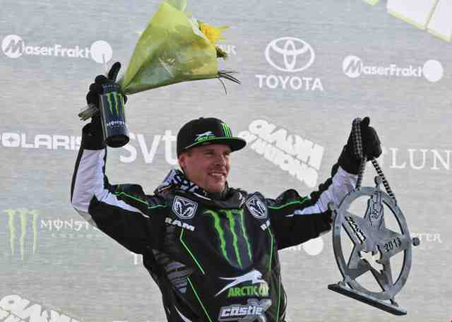 Team Arctic/Monster Energy racer Tucker Hibbert wins the '13 Clash of Nations