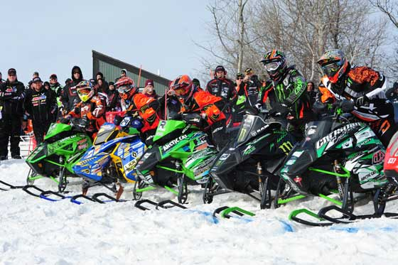 Team Arctic Snocross racing. Photo by ArcticInsider.com