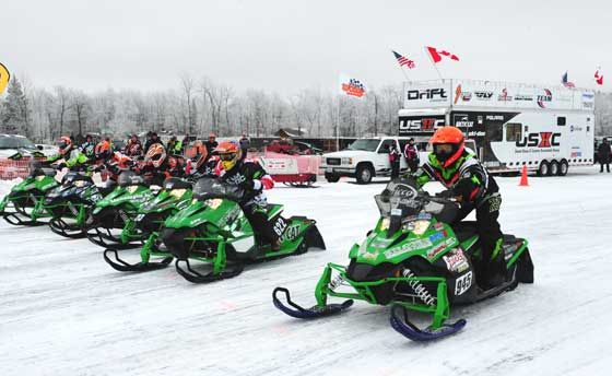 Team Arctic dominates the Junior classes with the Sno Pro 500