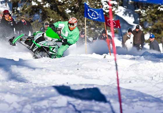 Team Arctic hillclimb King Kyle Tapio