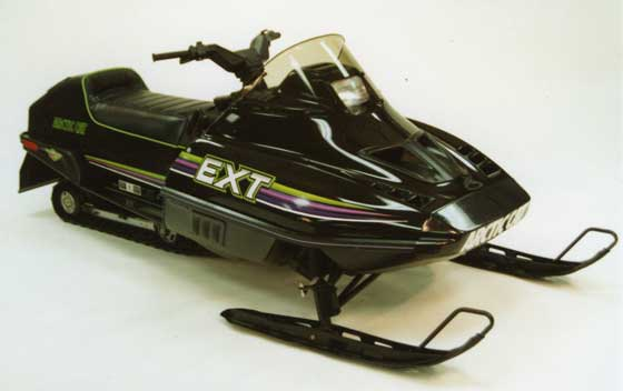 1990 Arctic Cat EXT Special equipped with FOX SHOX