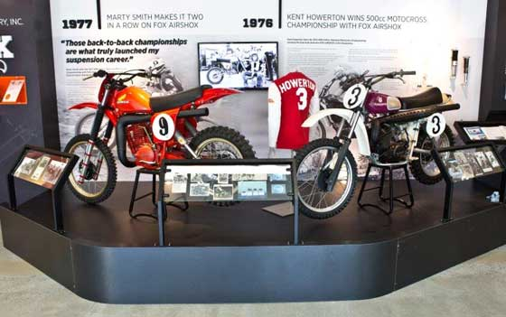 FOX SHOX Museum and 40-year history
