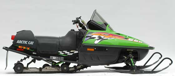 1997 Arctic Cat ZR580 owned by Tom Rowland, photo by ArcticInsider.com