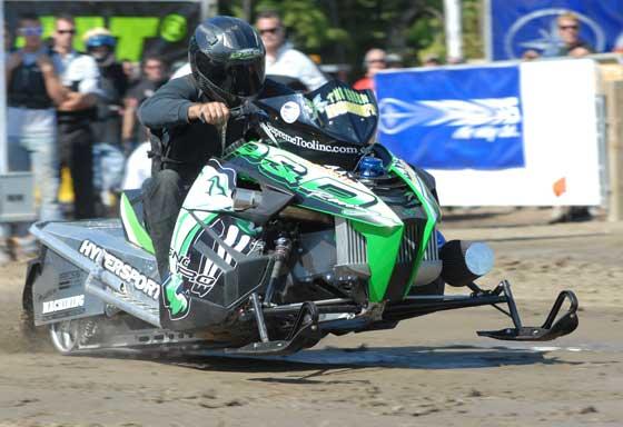 Team Arctic drag racer Glenn Hall, photo by ArcticInsider.com