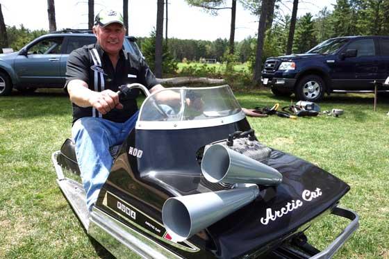 How Ken Kranz bought a vintage Arctic Cat Puma snowmobile