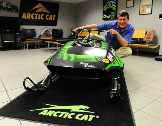 Arctic Cat's Brian Espeseth. Photo by ArcticInsider.com