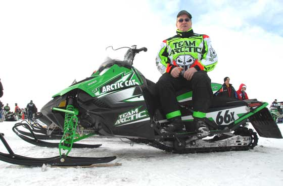Roger Skime at the 2010 I-500. Photo by ArcticInsider.com