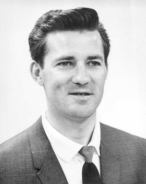 Roger Skime as he looked when he joined Arctic Cat in 1962