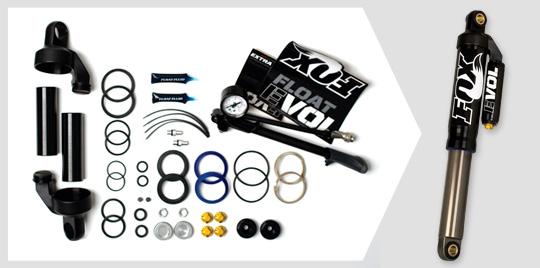 FOX EVOL Upgrade for snowmobiles