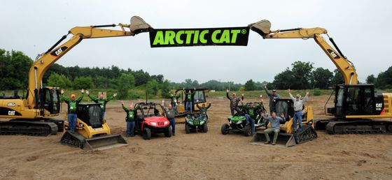 2014 Arctic Cat ATV & Side-by-Side Intro, photo by ArcticInsider.com