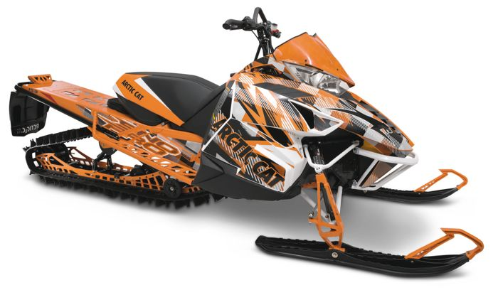 (Orange) STROBE Cat Wrap from Arctic Cat