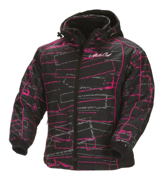 Arctic Cat Catgirl Glam Coat in Pink