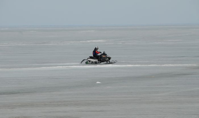 Prototype testing of the Arctic Cat ProCross in 2010. Photo by ArcticInsider.com