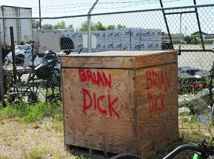 Team Arctic's Brian Dick has a box of tricks. Photo by ArcticInsider.com