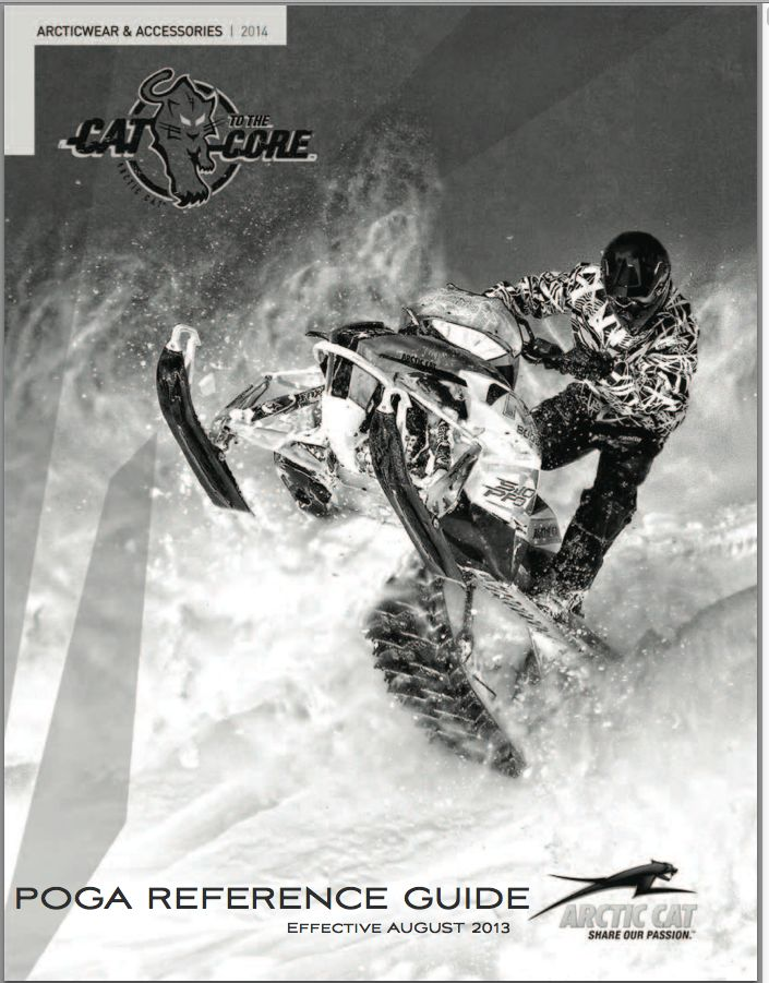 Arctic Cat 2014 Snowmobile Accessory Catalog