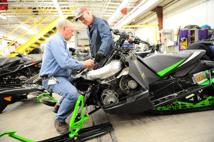 Arctic Cat Engineers Greg Spaulding and Larry Coltom with El Tigre 6000