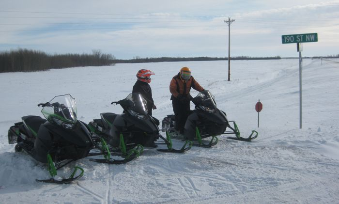 Arctic Cat Engineers testing pre-production El Tigre ZR 6000s