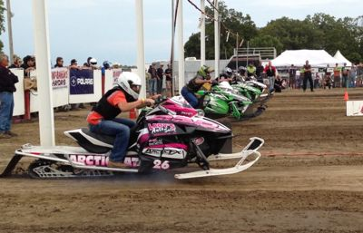 Dylan Roes won the Stock 800 class at the 2013 Hay Days Grass Drags