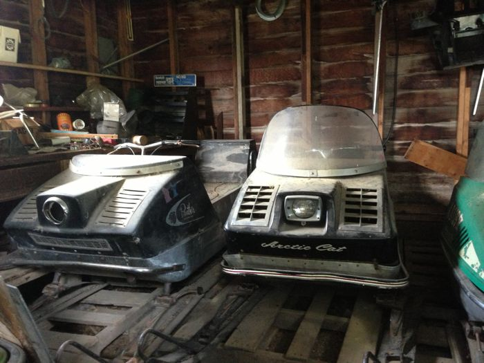 Arctic Cat Panther barn find