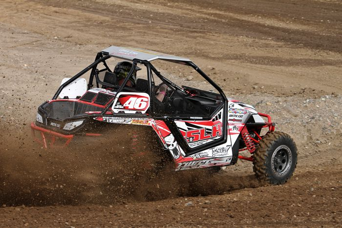 Alex Fortune races his Arctic Cat Wildcat X