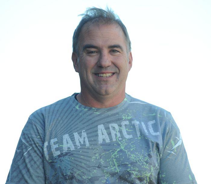 "Team Arctic's Dale Lindbeck, aka ""29er"""