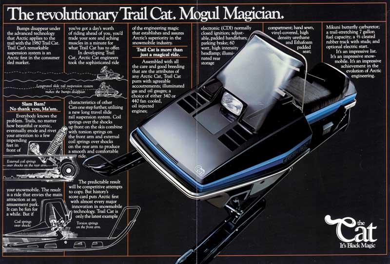 1980 Arctic Cat Trail Cat catalog page