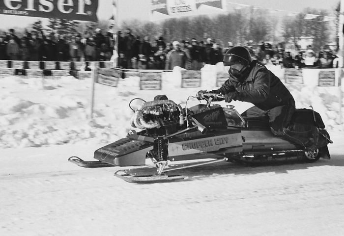Marv Jorgenson recorded a snowmobile speed record of 142.6 mph in 1982