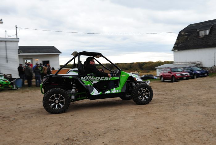 Arctic Cat party at the Zedshed. Photo by ArcticInsider.com.