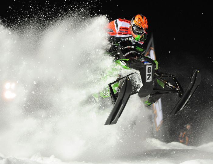 Team Arctic snocrosser Cody Thomsen. Photo by ArcticInsider.com