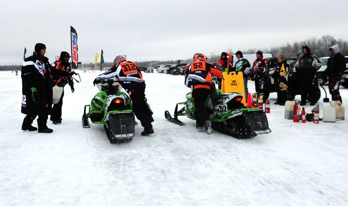 Team Arctic's Zach Herfindahl and D.J. Ekre. Photo by ArcticInsider.com