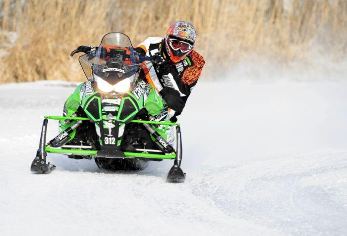Team Arctic's Zach Herfindahl. Photo by ArcticInsider.com