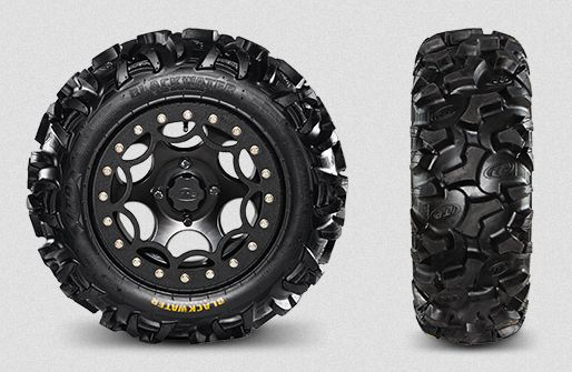 Blackwater tires on the new Arctic Cat Wildcat X Limited