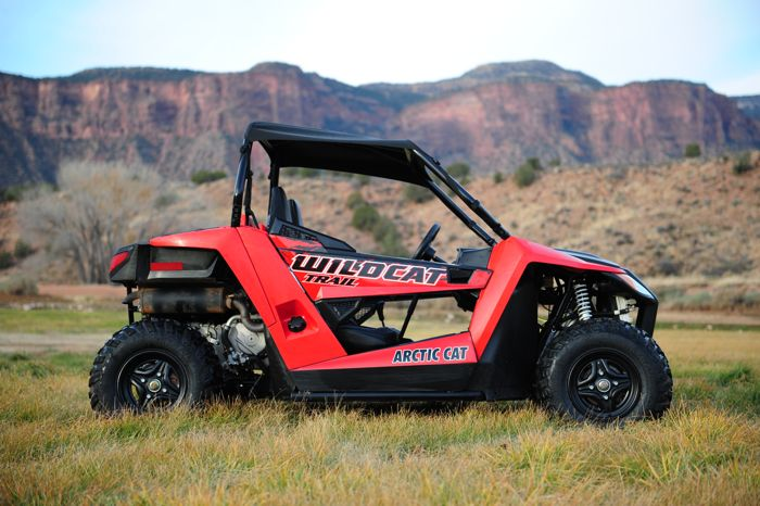 2014 Arctic Cat Wildcat Trail. The new 50-in. wide UTV. Photo by ArcticInsider.com