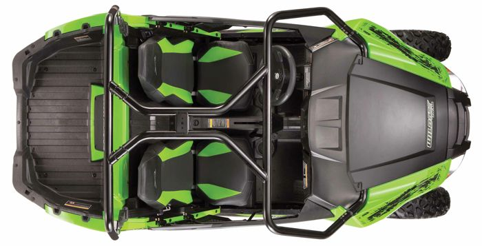 2014 Arctic Cat Wildcat Trail. The new 50-in. wide UTV.