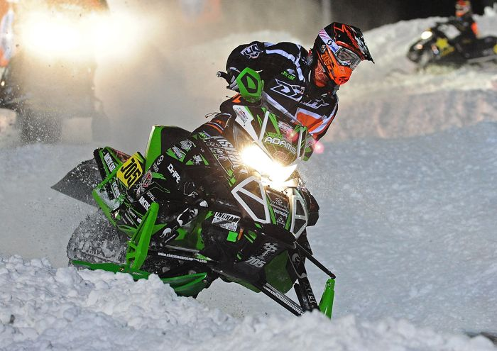 Team Arctic's Tyler Adams won Sport #2. Photo by ArcticInsider.com