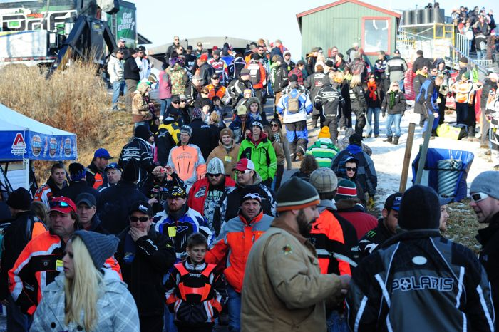 2013 Duluth snocross. Photo by ArcticInsider.com