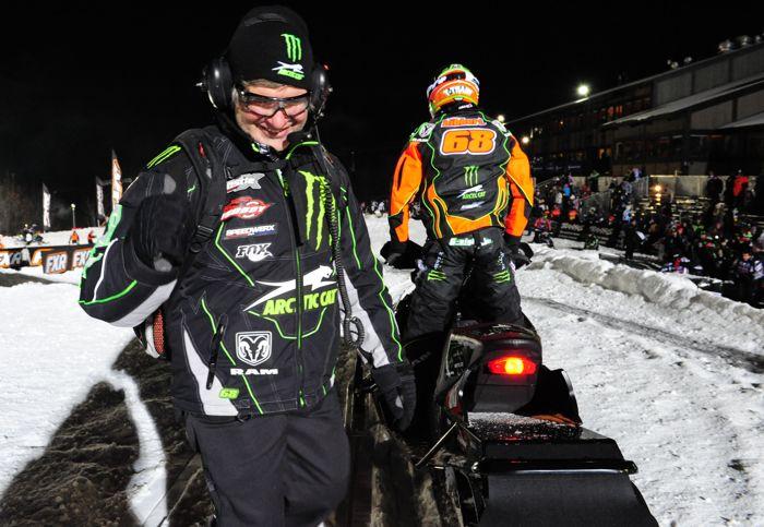 Kirk and Tucker Hibbert. Team Arctic legends. Photo by ArcticInsider.com