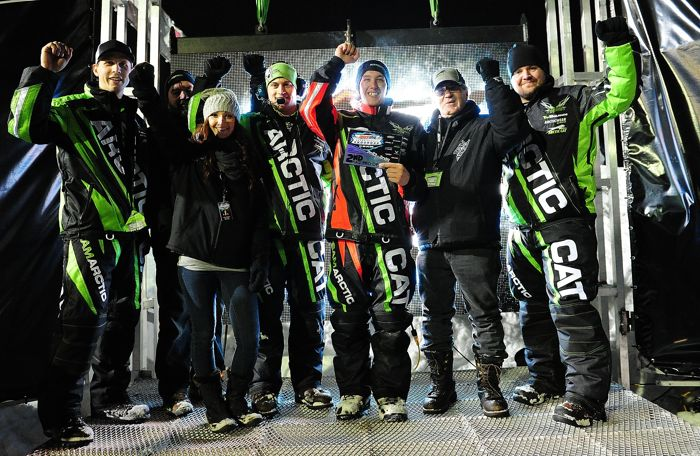 Factory Team Arctic with Cody Thomsen. Photo by ArcticInsider.com