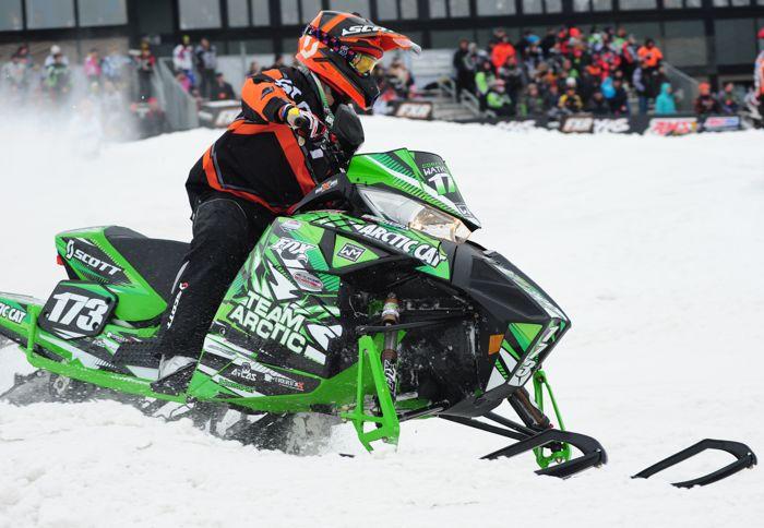 Team Arctic's Corey Watkinson. Photo by ArcticInsider.com