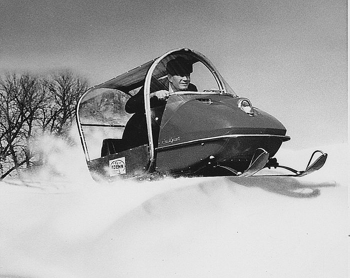 TGIF: snowmobile protection from... everything